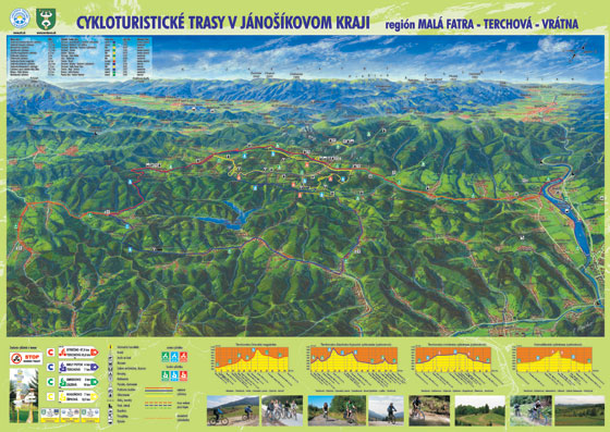 mapa v janosikovom kraji